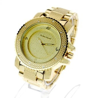 reloj hip hop iced out luxury baller full metal gangster fa