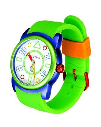 reloj hoja de aluminio  verde verde