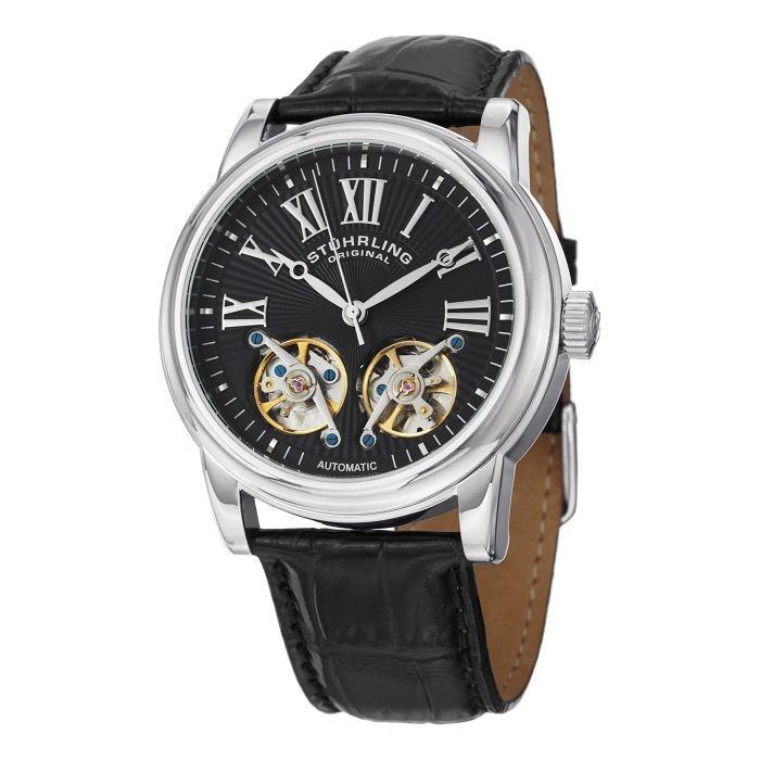 d1a73379f171 Reloj Hombre Acero Inoxidable Correa Cuero Stuhrling -   6