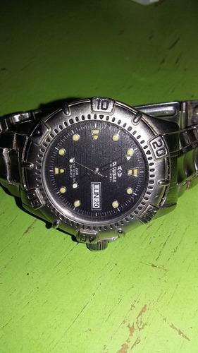 reloj hombre acero (japones)
