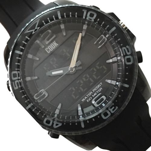 reloj hombre ana digi john l. cook mod. 9416