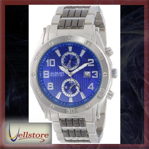 reloj hombre august steiner as8070bu swiss
