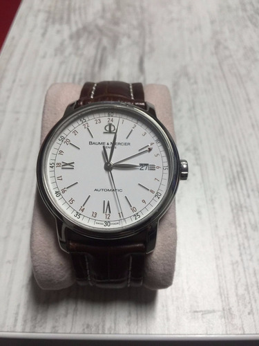 reloj hombre baume and mercier classima