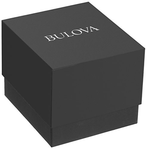 reloj hombre bulova 96d121 quartz silver vellstore