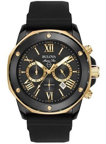 reloj hombre bulova crono 98b278 agen ofi envio gratis mm