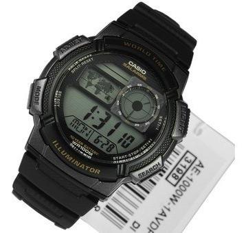 reloj hombre casio ae-1000w negro digital / lhua store