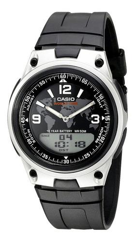reloj hombre casio aw-80-1a2-c joyeria esponda