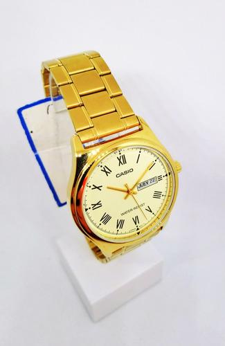 reloj hombre casio clasico acero agente oficial
