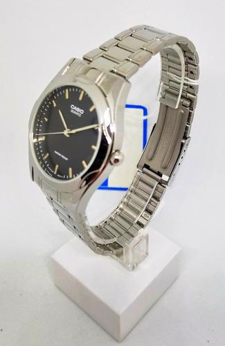 reloj hombre casio clasico acero original