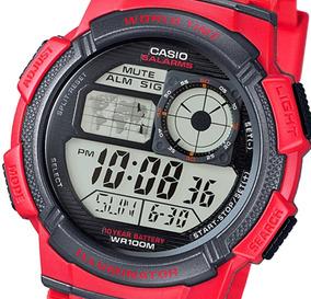 Reloj CodAe Múltiple 1000w Hombre Casio Alarmas Hora 5 4a TlFc1JK