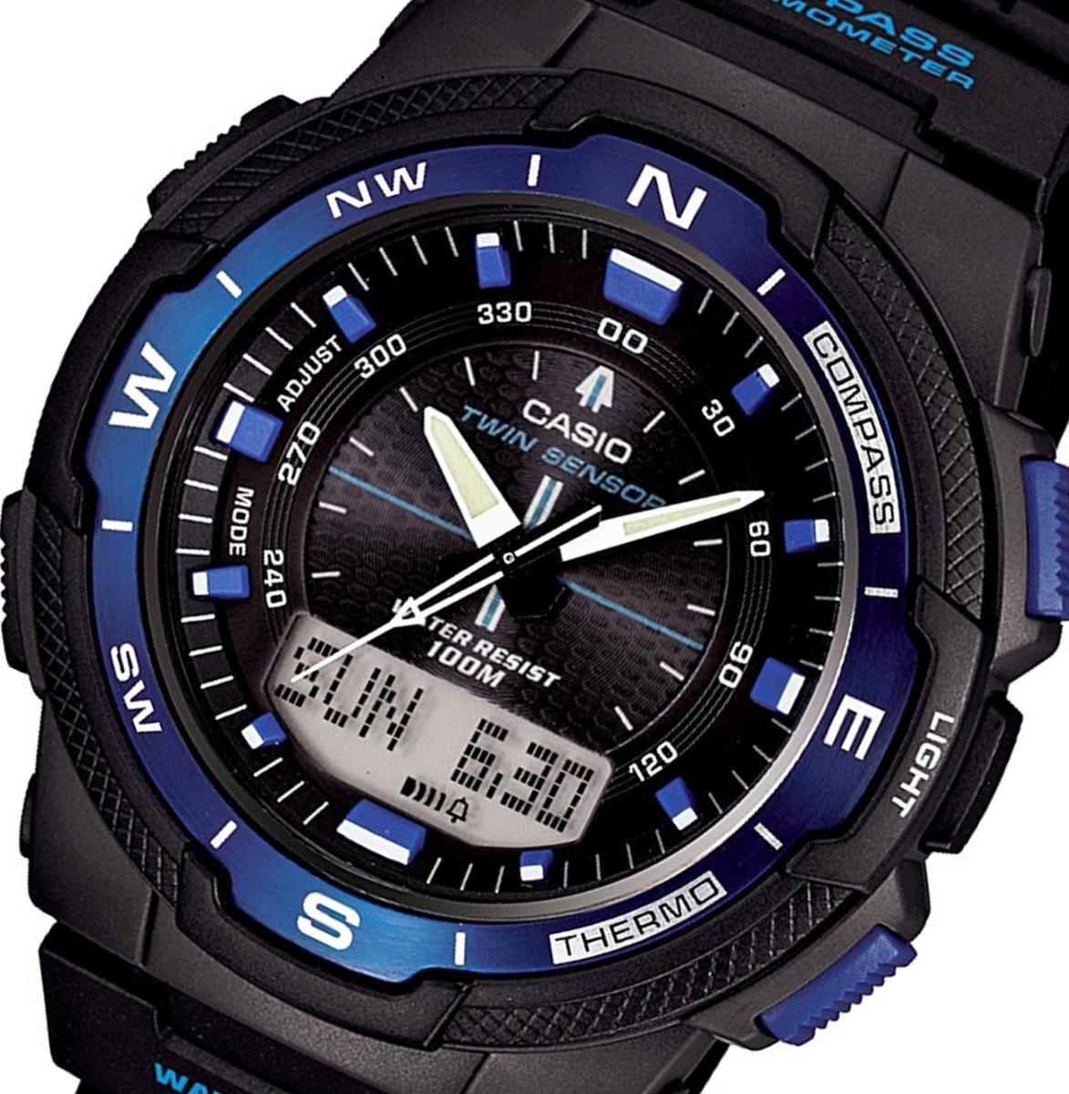 Hombre 2b Casio 500h Reloj CodSgw Brújula Termómetro rdtCshQ