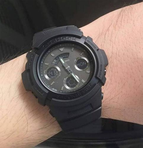 online retailer 6eb2f 2a16e Reloj Hombre Casio G-shock Aw-591bb-1a Joyeria Esponda