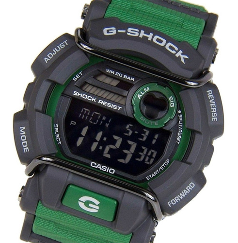 reloj hombre casio g shock gd-400-3dr original
