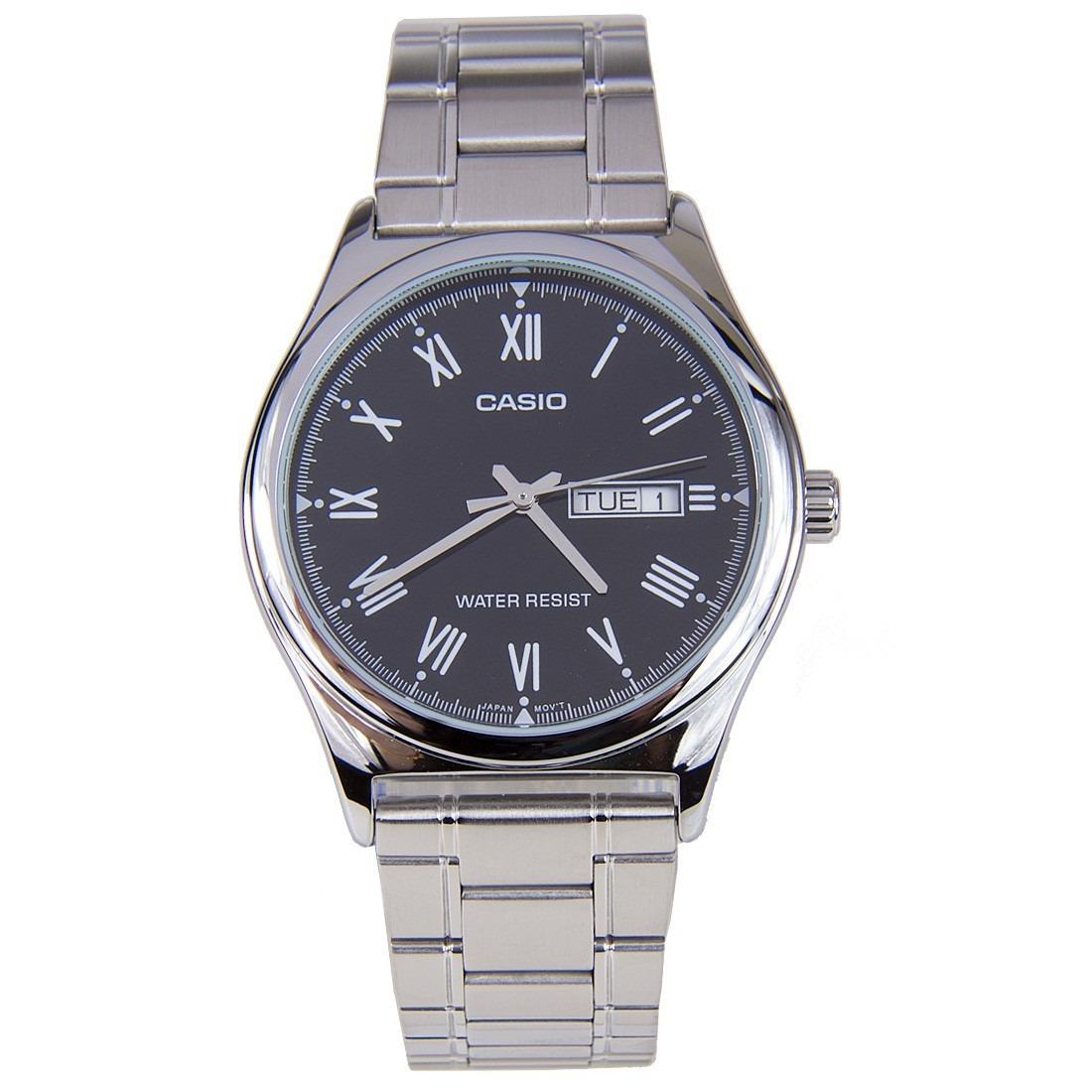 5a544c43f369 Reloj Análogo Hombre Casio Mtp-v006d-1b - Pulso Metálico -   81.900 ...