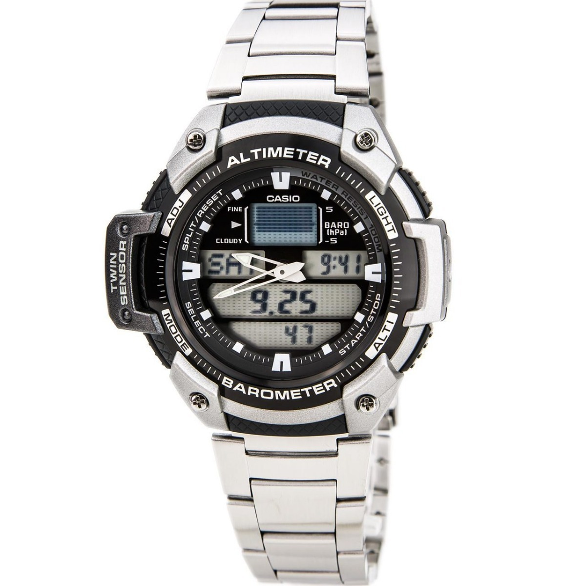 f416716a672c reloj hombre casio sgw-400hd-1b altimetro barometro. Cargando zoom.