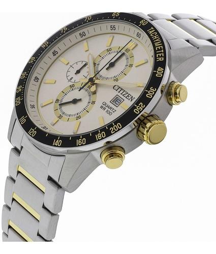 reloj hombre citizen an3604-58a crono wr 100 promo