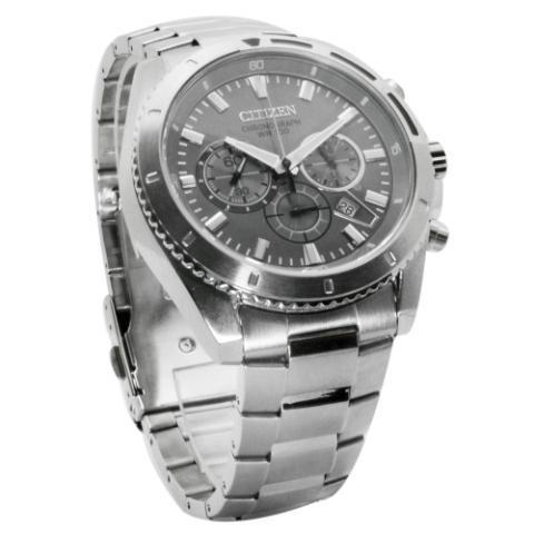 reloj hombre citizen an8010-55h crono agente oficial m