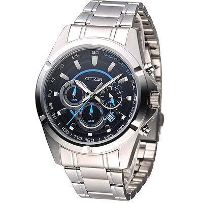 reloj hombre citizen an8040-54l crono agente oficial m