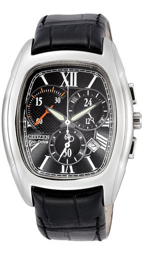 reloj hombre citizen at1011-02e crono agente oficial m