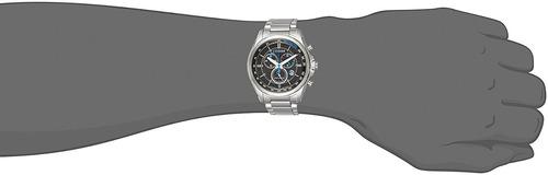 reloj hombre citizen at2130-83e crono eco agente oficial m