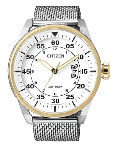 reloj hombre citizen  aw1364-54a eco drive agente oficial m