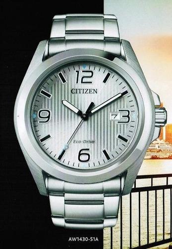reloj hombre citizen  aw1430-51a  ecodrive agente oficial m