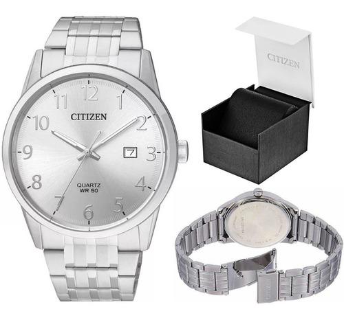reloj hombre citizen bi5000 acero wr50 agente oficial