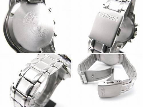 reloj hombre citizen ca0345-51l titanio eco agente oficial m