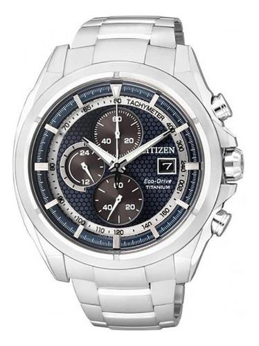 reloj hombre citizen ca0550-52l crono titanio agen oficial j