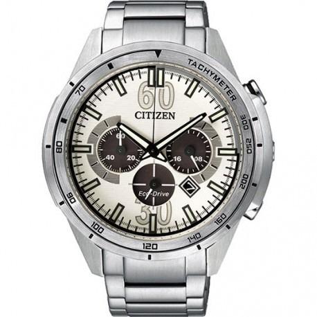 reloj hombre citizen ca4120-50a crono eco agente oficial m
