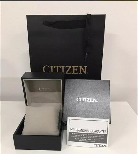 reloj hombre citizen  ca4155-04l crono eco agente oficial jm