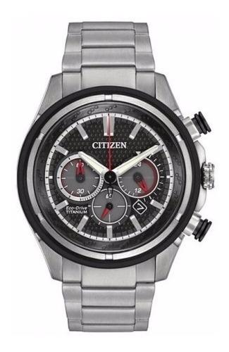 reloj hombre citizen ca4240-58e crono eco agente oficial m