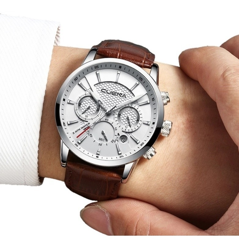 7527022d7 reloj hombre cronógrafo elegante envío gratis hora militar. Cargando zoom.