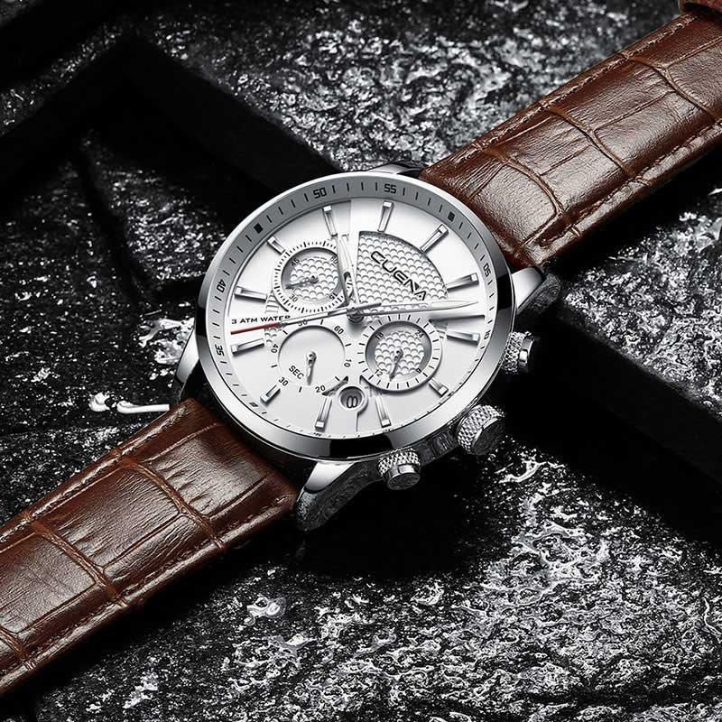 95ca2b69e1e44 Reloj Hombre Cuena Minimalista De Lujo