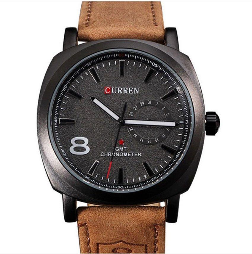 0420648bdcdc5 Reloj Hombre Curren 8139 - Negro -   50.000 en Mercado Libre