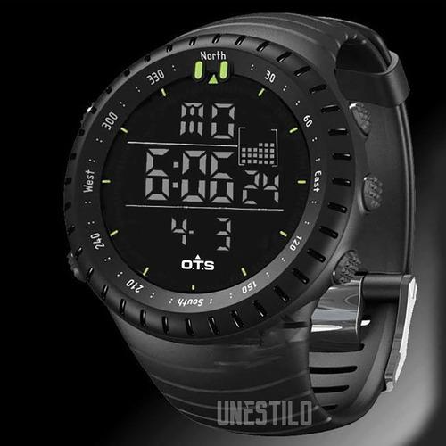reloj hombre deportivo ots casual digital acuático original