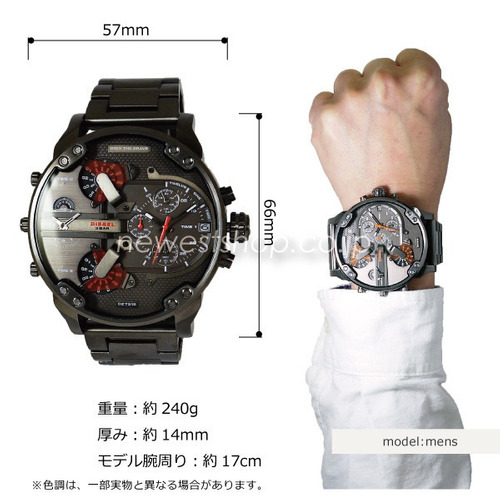 reloj hombre diesel dz7315 nueva colección 100% original