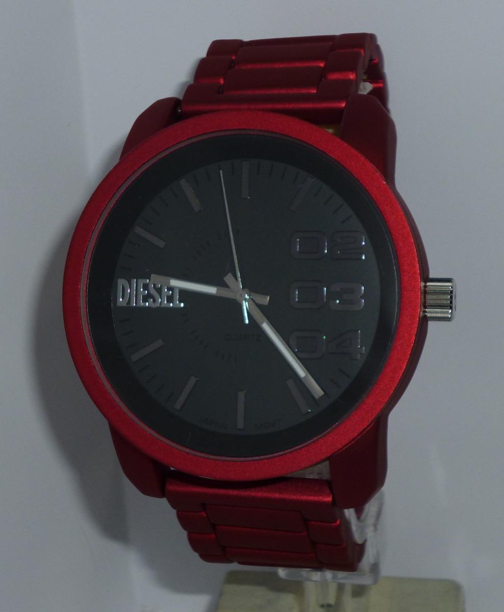 08cf8bf644c reloj hombre diesel sumergible barato excelente rojo regalo. Cargando zoom.