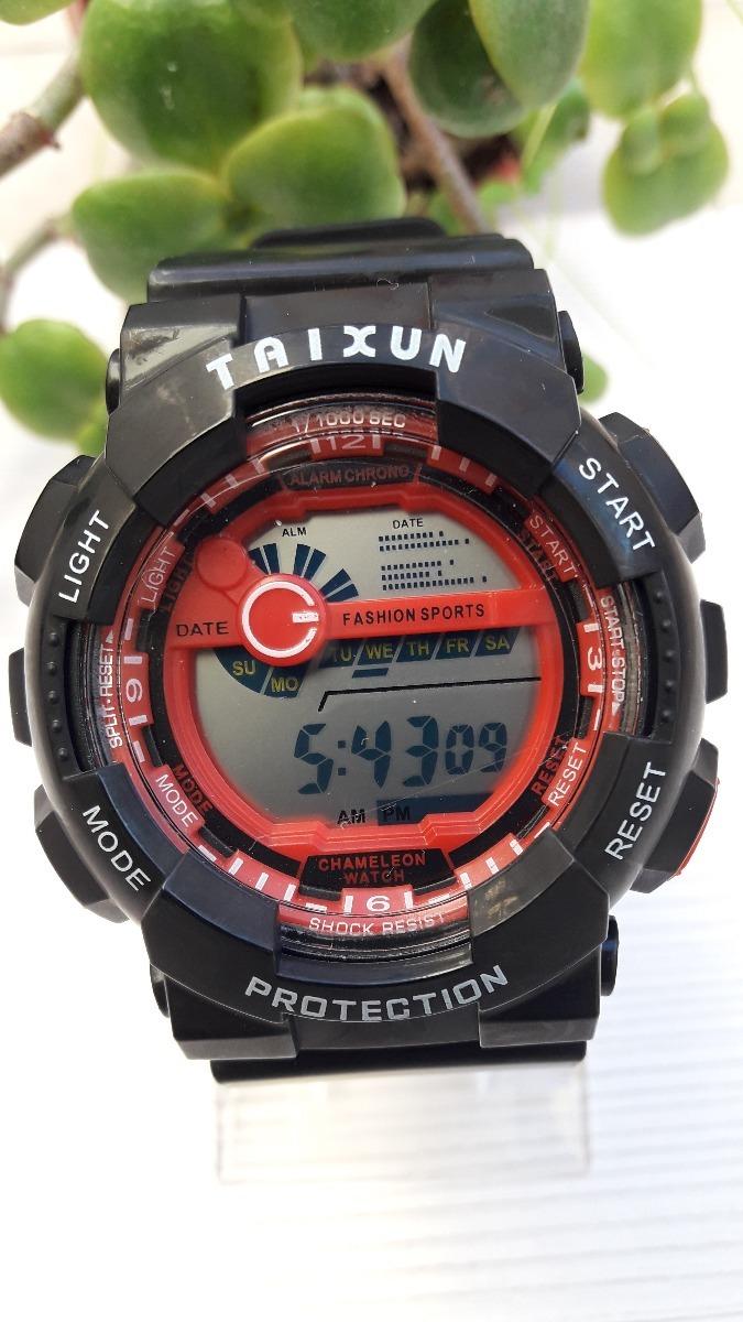 6af1afd09f42 reloj hombre digital cronometro alarma luz sumergible 50 m. Cargando zoom.