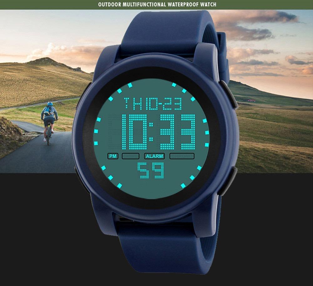 reloj hombre digital deportivo caballero sport cronometro. Cargando zoom. 1f6ca687986e