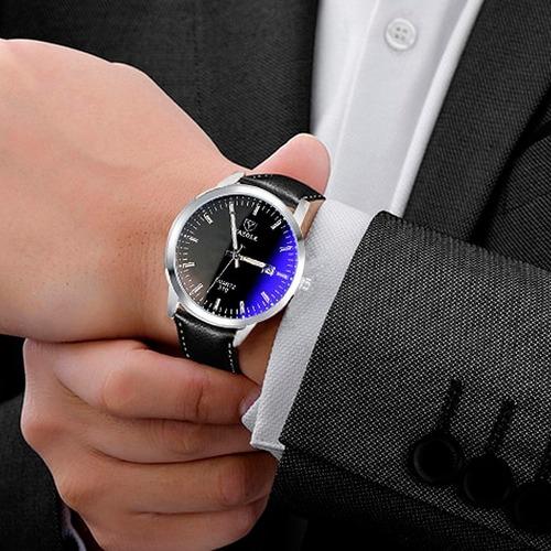 reloj hombre - elegante + caja de regalo