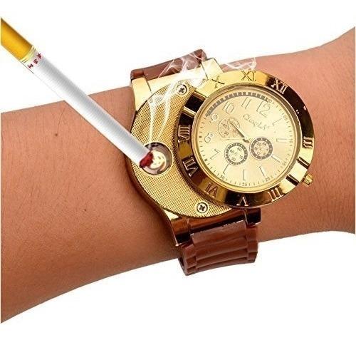 reloj hombre encendedor reloj inteligente reloj usb pulsera