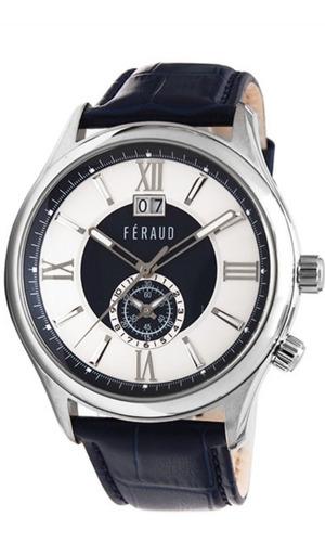 reloj hombre feraud lf10016el retro x local + regalo !!!!