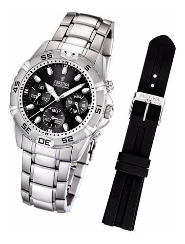 reloj hombre festina cronógrafo f16635 garantía oficial