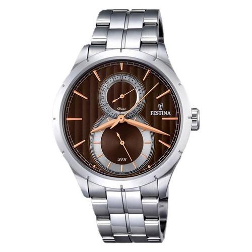 reloj hombre festina f16891.5 agente oficial