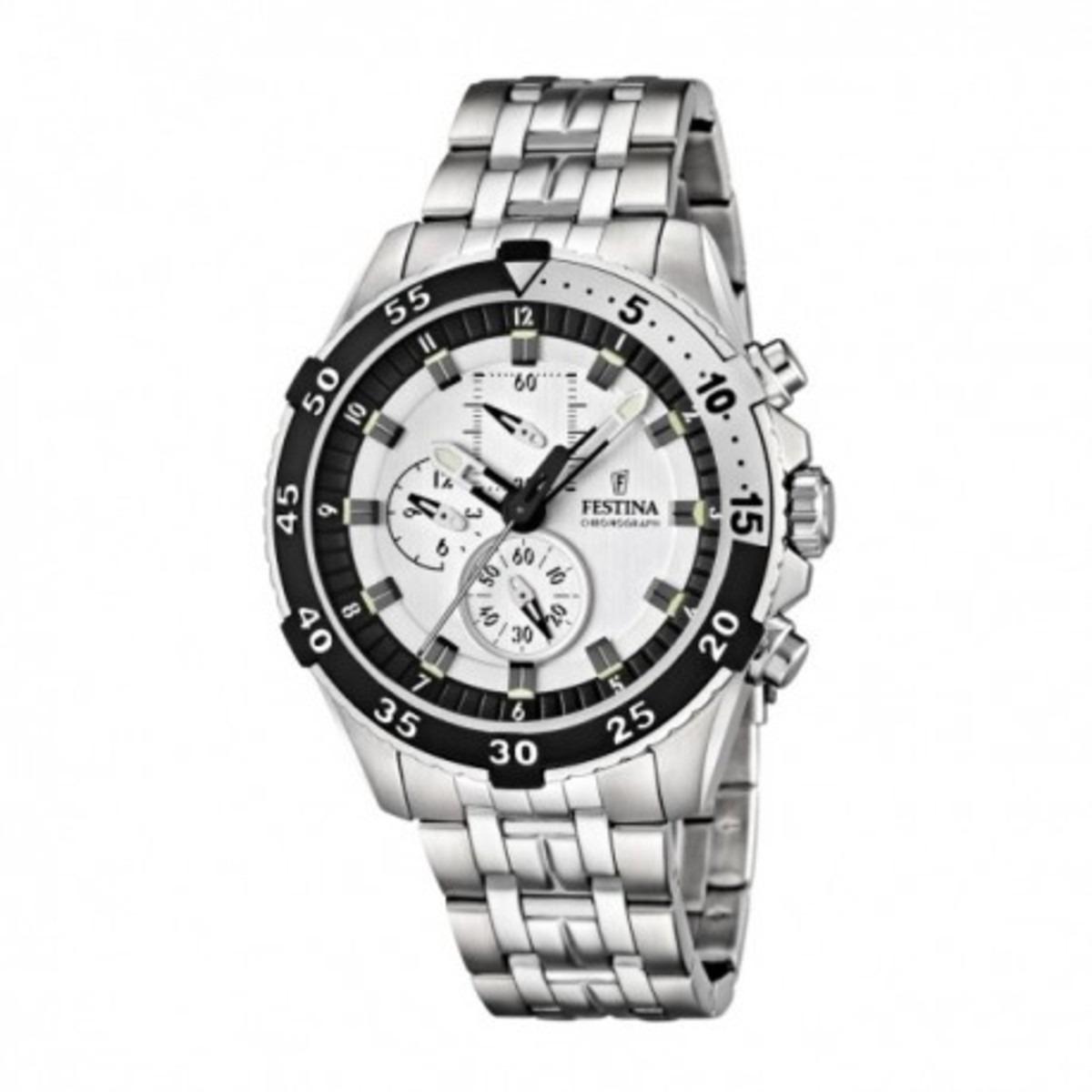 249ba07a8174 reloj hombre festina tour of britain f16603-1 acero y blanco. Cargando zoom.