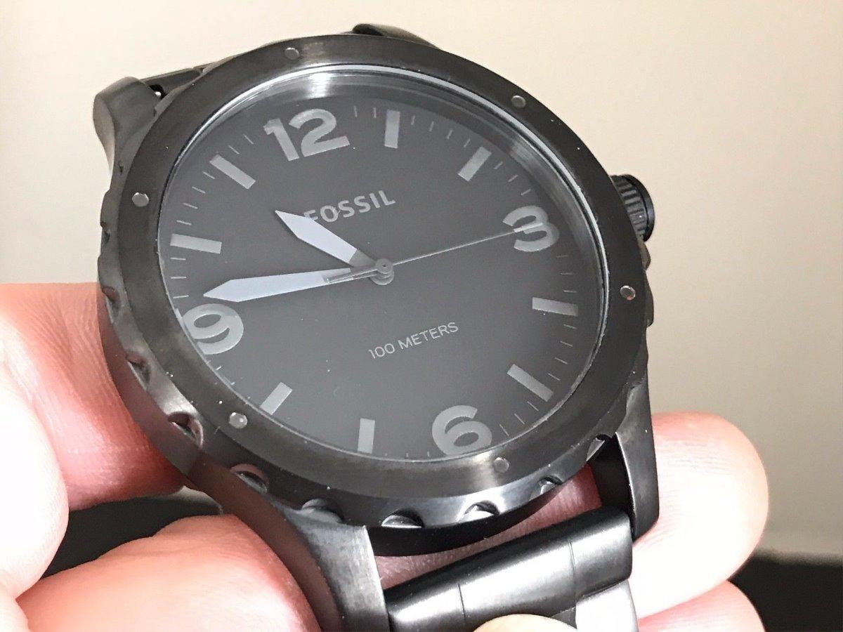 ec35603acc98 Reloj Hombre Fossil Jr1458 Correa Acero