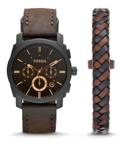 reloj hombre fs5151set original fossil nuevos en caja