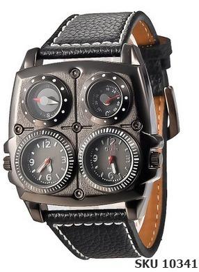 reloj hombre grande militar dual multifuncion envio gratis
