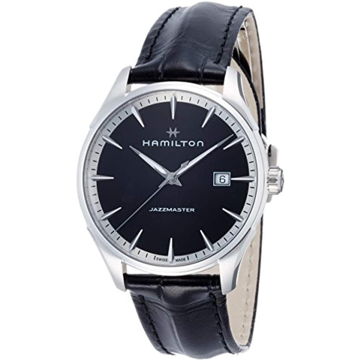Reloj Hombre Hamilton Jazzmaster Esfera Negra
